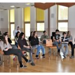 V predavalnici v CSOD Bohinj